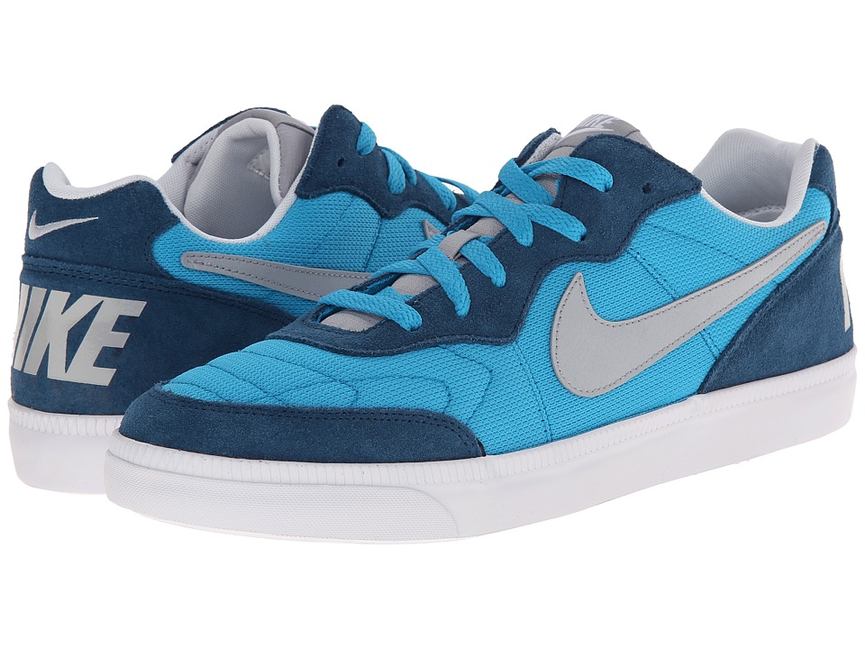 Nike - NSW Tiempo Trainer (Blue Lagoon/Blue Force/White/Wolf Grey) Men's Cross Training Shoes