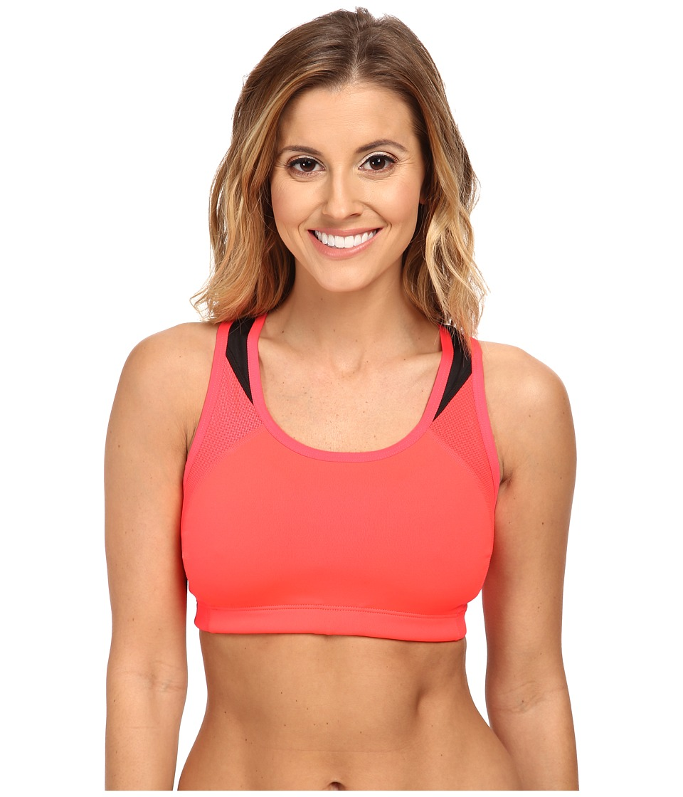 New Balance - The Fabulous Framer II (Bright Cherry/Black) Women's Bra
