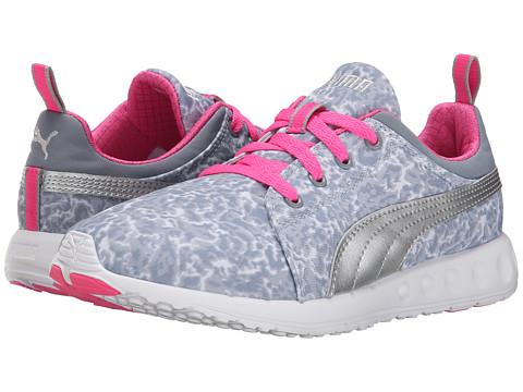 PUMA - Carson Runner Tort (Tradewinds/Puma Silver/Fluro) Women's Running Shoes