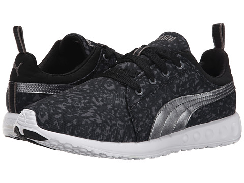 PUMA - Carson Runner Tort (Black/Aged Silver) Women's Running Shoes