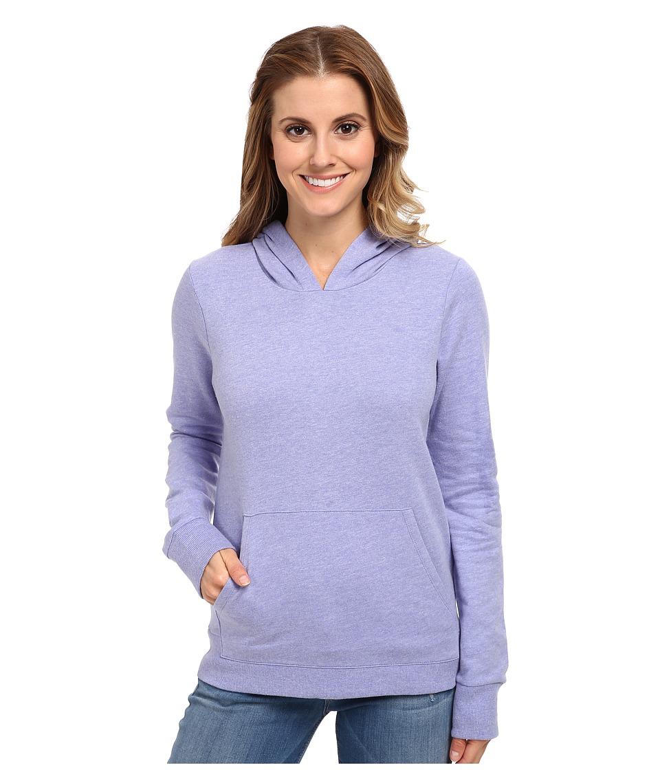 Hurley - Solid Slim Fleece Pullover (Heather Electric Purple) Women