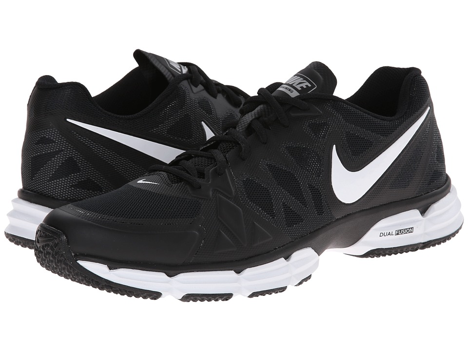 Nike - Dual Fusion TR 6 (Black/Metallic Silver/Pure Platinum/White) Men's Cross Training Shoes