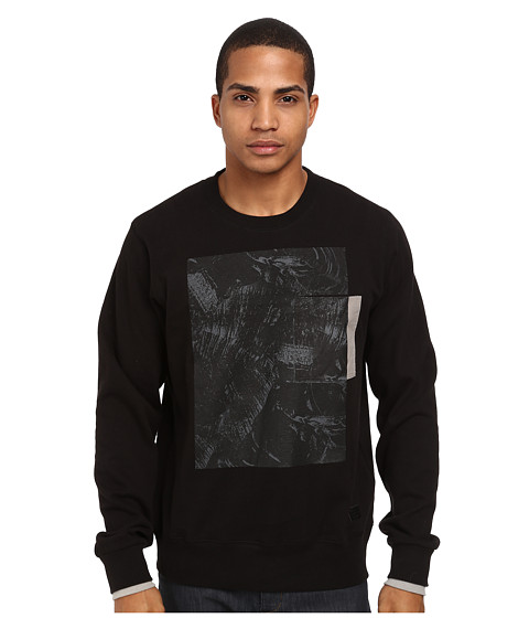 L-R-G - L-Coalition Crew Neck Sweatshirt (Black) Men