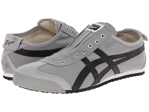Onitsuka Tiger by Asics - Mexico 66 Slip-On (Grey/Black 2) Shoes