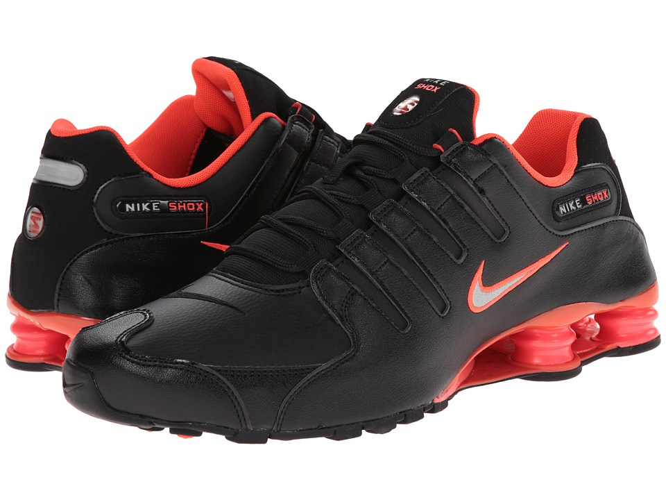 Nike - Shox NZ (Black/Bright Crimson/Flint Silver/Metallic Silver) Men's Shoes