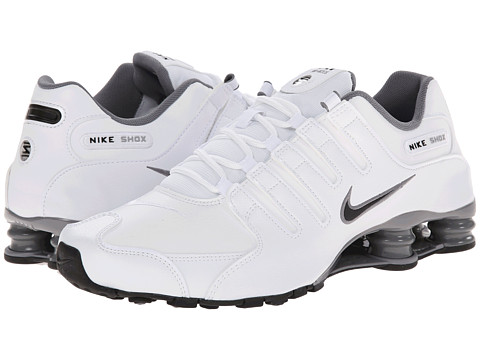 Nike - Shox NZ (White/Cool Grey/Metallic Silver/Black) Men