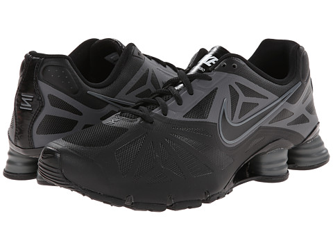 Nike - Shox Turbo 14 (Black/Dark Grey/White/Black) Men's Shoes