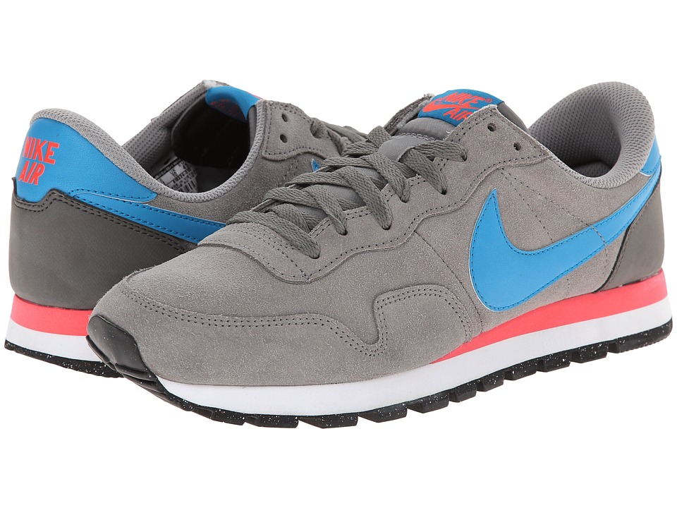 Nike - Air Pegasus 83 Leather (Dust/YKK340/Bright Crimson/Light Blue Lacquer) Men's Classic Shoes