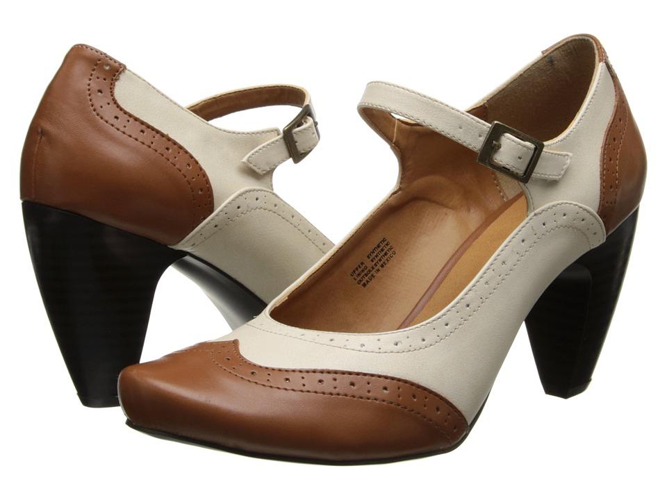 Gabriella Rocha - Indy (Bone/Camel Leather) High Heels