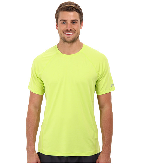 ASICS - Everyday III Short Sleeve (Wow Heather) Men's Short Sleeve Pullover