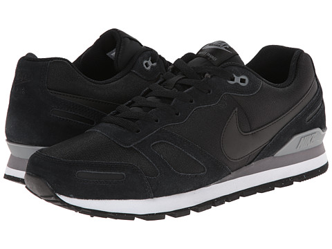 Nike - Air Waffle Trainer (Black/Cool Grey/White/Black) Men's Lace up casual Shoes