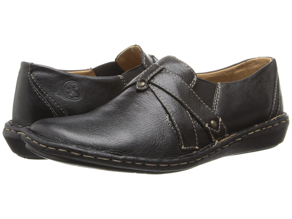 Lobo Solo - Nuna (Black Leather) Women's Shoes