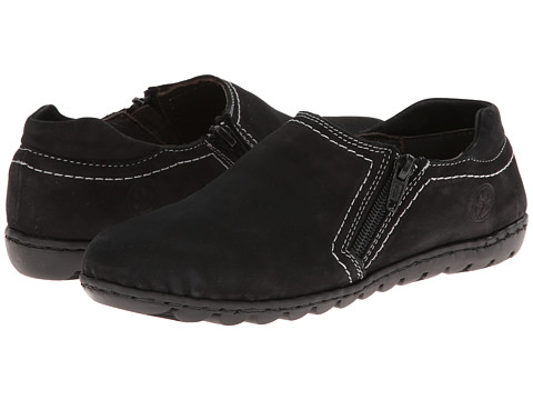 Lobo Solo - Monet (Black Leather) Women's Shoes