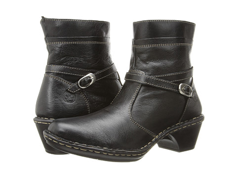 Lobo Solo - Riley (Black Leather) Women's Zip Boots