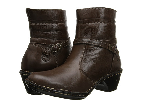 Lobo Solo - Riley (Brown Leather) Women's Zip Boots