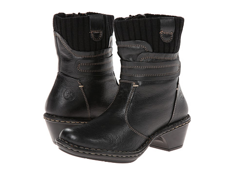 Lobo Solo - Ronnie (Black Leather) Women's Zip Boots