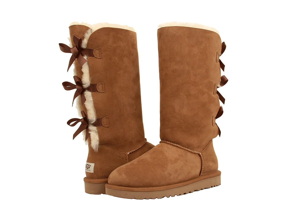 UGG - Bailey Bow Tall (Chestnut) Women's Boots