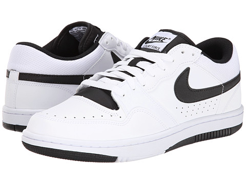 Nike - Court Force Low (White/Black) Men