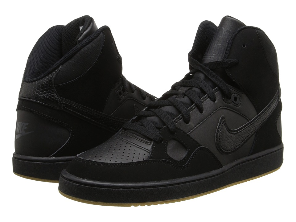 Nike - Son Of Force Mid (Black/Gum Light Brown/Anthracite/Black) Men's Classic Shoes
