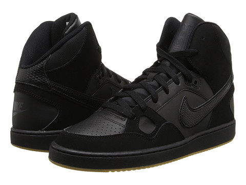 Nike - Son Of Force Mid (Black/Gum Light Brown/Anthracite/Black) Men