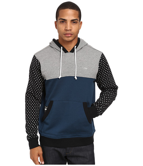 L-R-G - Deliriant Pullover Hoodie (Charcoal Heather Multi) Men