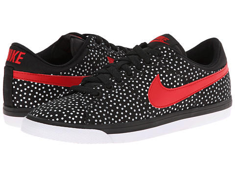 Nike - Match Supreme Print (Black/White/University Red) Women's Shoes
