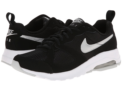 Nike - Air Max Muse (Black/White/Metallic Platinum) Women's Shoes