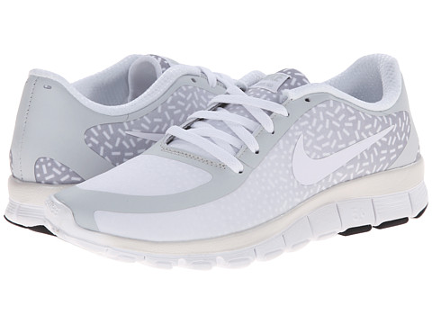 Nike - Free 5.0 V4 (Pure Platinum/White/White) Women's Shoes