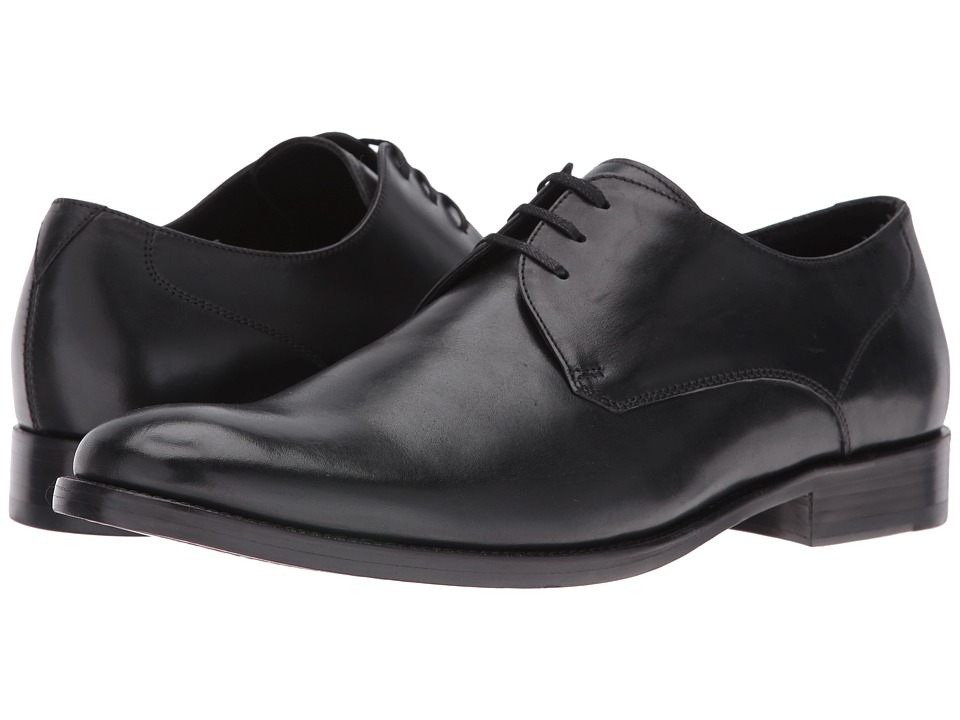 John Varvatos - Luxe Dress Oxford (Black) Men's Lace up casual Shoes
