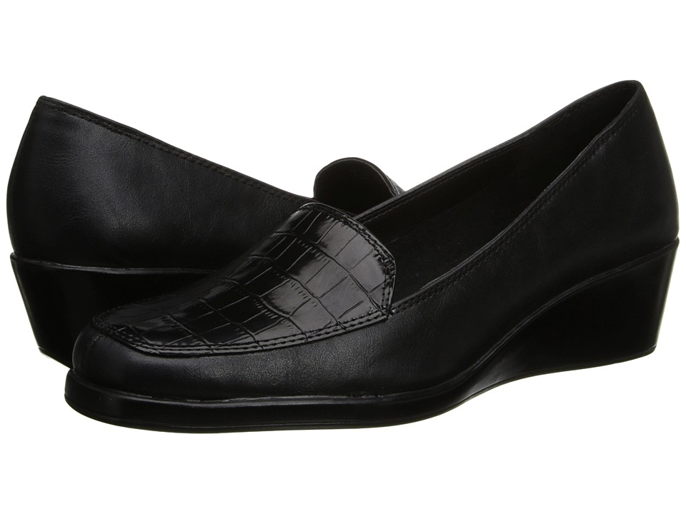 Aerosoles - Tempting (Black Combo) Women's Wedge Shoes