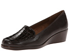 Aerosoles - Tempting (Dark Brown Croco) - Footwear