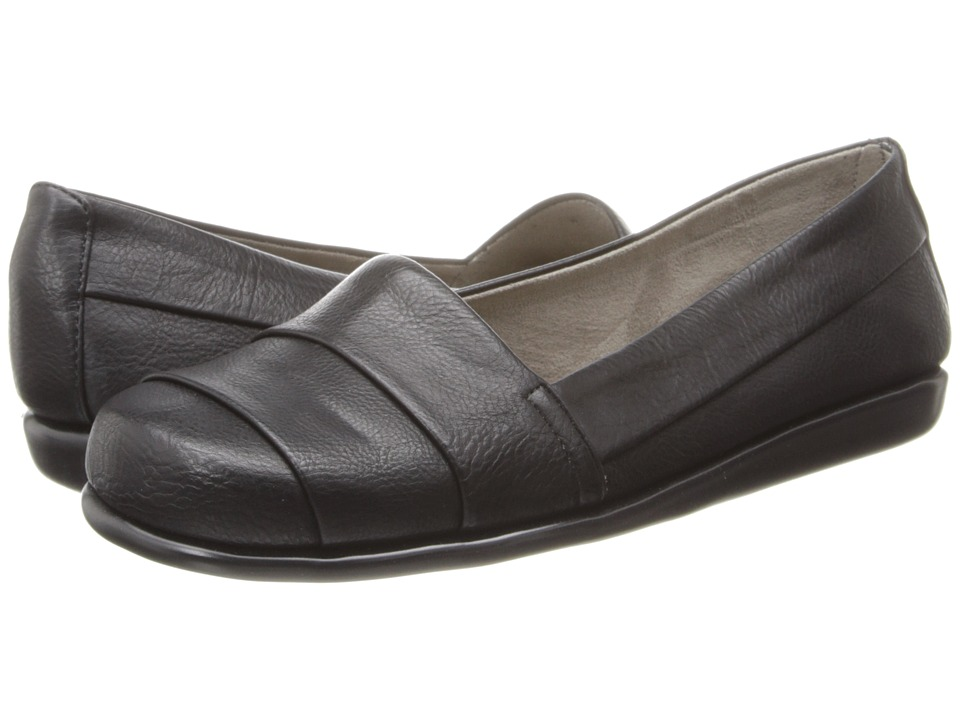 Aerosoles - Softball (Black) Women's Slip on Shoes