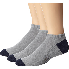SALE! $14.99 - Save $5 on Tommy Bahama Marlin Athletic Liner Socks 3 Pack (Grey Navy Heather) Footwear - 25.05% OFF $20.00