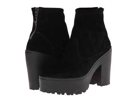 Shellys London - Meagan (Black Suede) Women's Boots