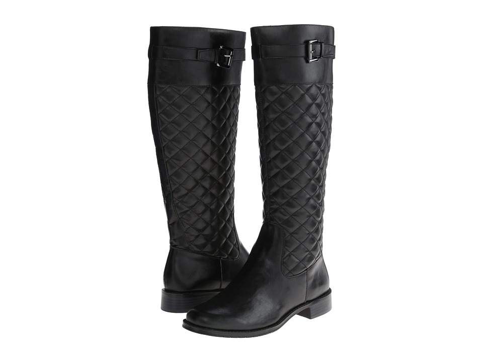 Aerosoles - High Ride (Black Quilted) Women's Boots