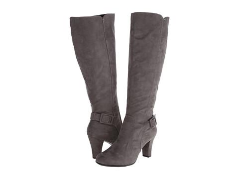 Aerosoles - Money Role (Grey Fabric) Women's Dress Zip Boots