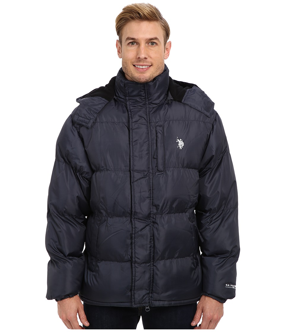 U.S. POLO ASSN. - Classic Short Bubble Coat w/ Small Pony (Classic Navy) Men
