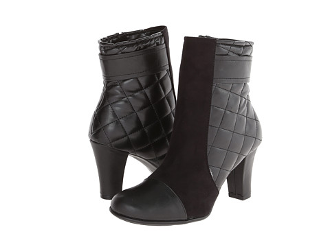 Aerosoles - Remote Controle (Black Quilted) Women's Boots