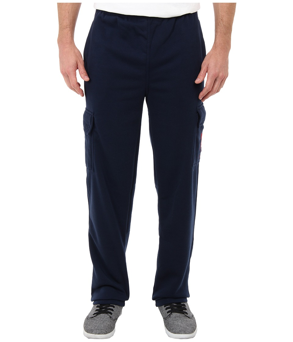 U.S. POLO ASSN. - Fleece Cargo Pant (Classic Navy) Men's Casual Pants