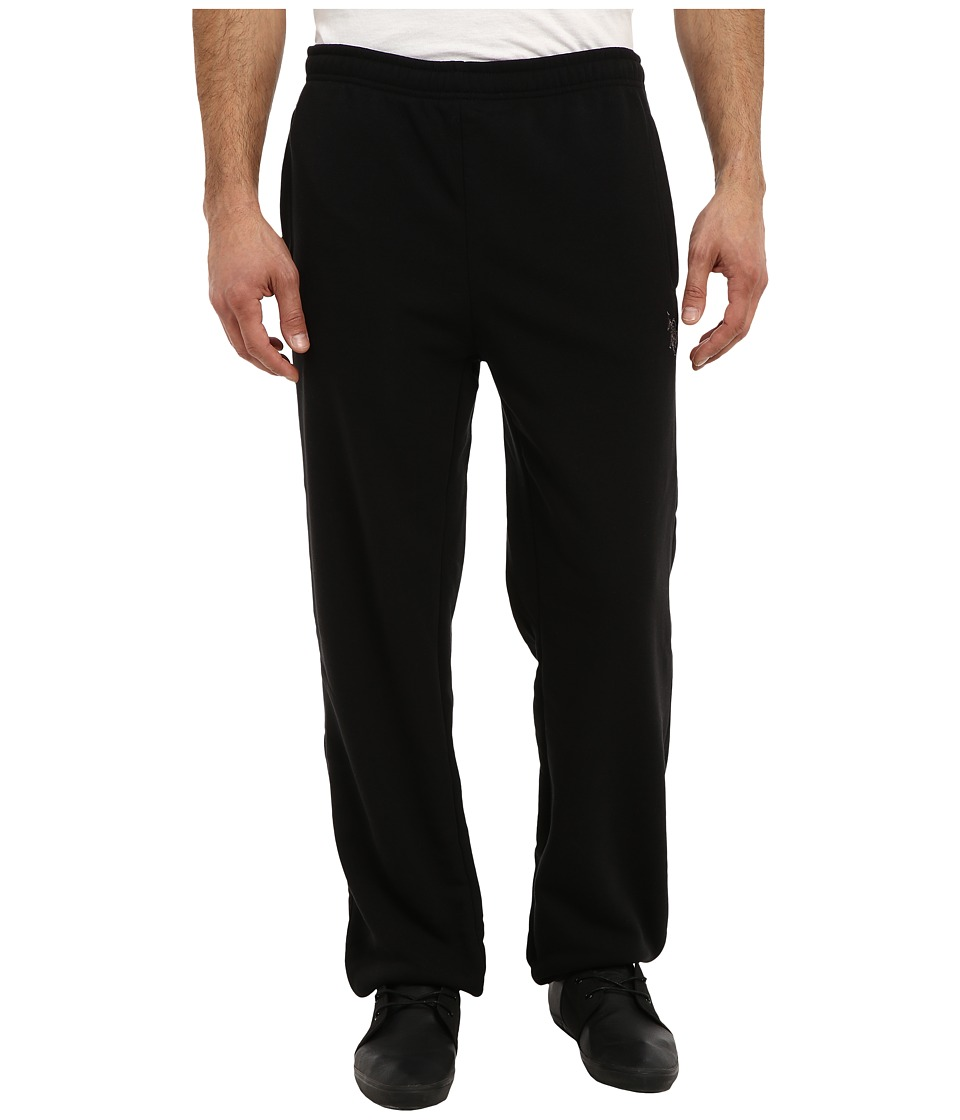 U.S. POLO ASSN. - Classic Fleece Pant (Black) Men's Casual Pants