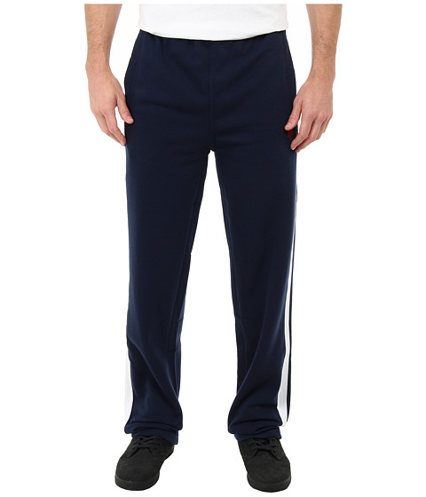 U.S. POLO ASSN. - Fleece Pants w/ Side Tape (Classic Navy) Men's Casual Pants