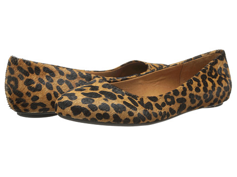 Dr. Scholl's - Really (Brown/Black Leopard) Women's Flat Shoes