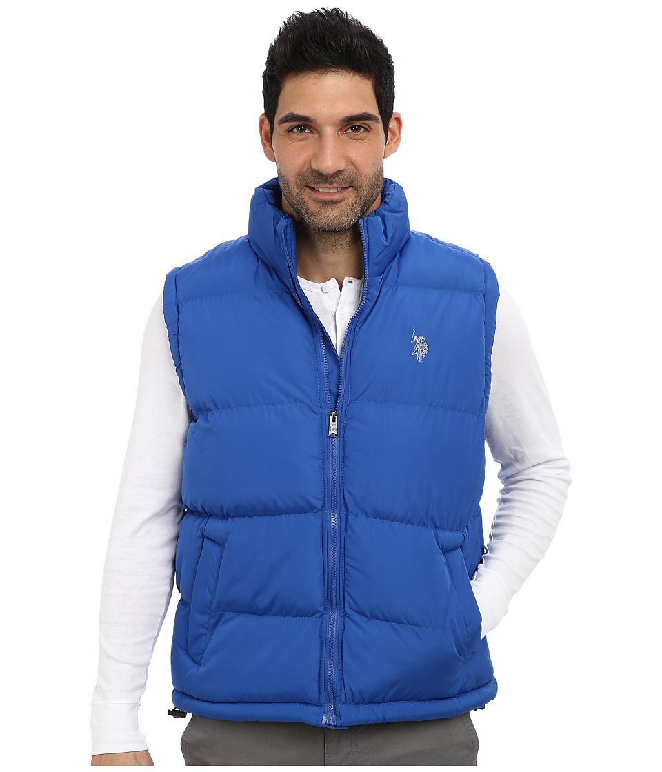 U.S. POLO ASSN. - Basic Puffer Vest (China Blue) Men's Vest