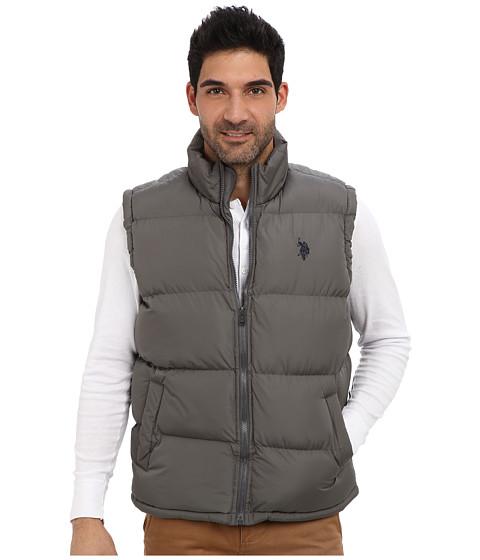U.S. POLO ASSN. - Basic Puffer Vest (Castlerock) Men's Vest
