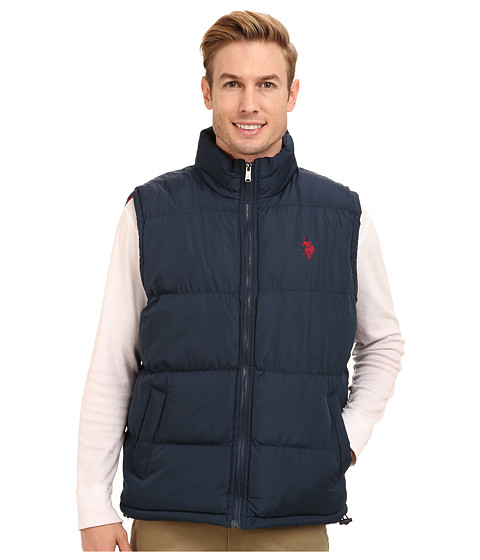 U.S. POLO ASSN. - Basic Puffer Vest (Classic Navy) Men's Vest