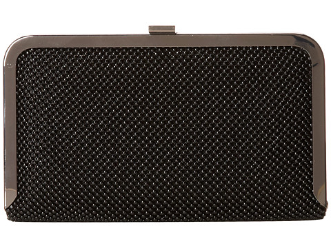 Jessica McClintock - Ball Frame Clutch (Black) Clutch Handbags