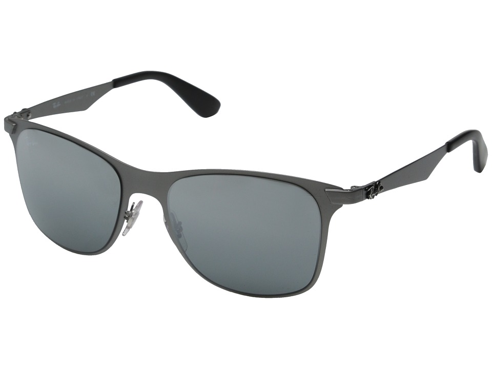 Ray-Ban - RB3521 52mm (Matte Gunmetal) Fashion Sunglasses