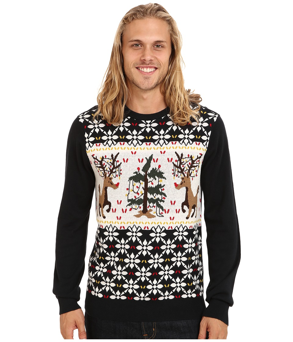 Volcom - Xxx Mas Sweater (Black) Men