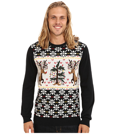 Volcom - Xxx Mas Sweater (Black) Men's Sweater