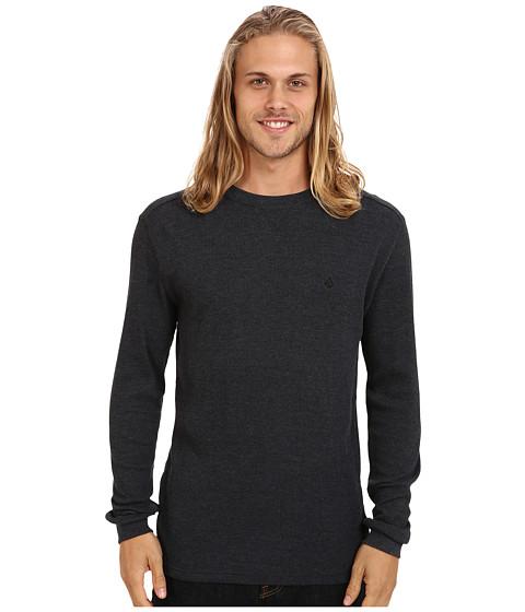 Volcom - Streight L/S Thermal (Black) Men